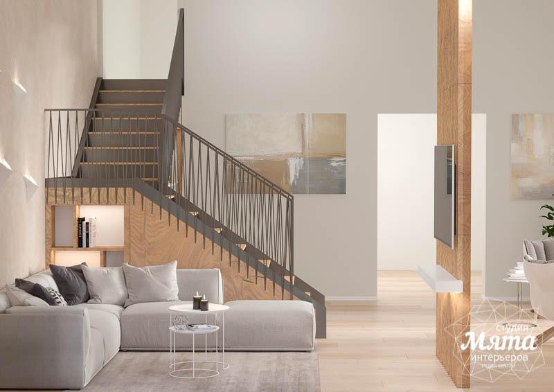 Дизайн интерьера гостиной в коттедже в г. Алапаевск img458583585