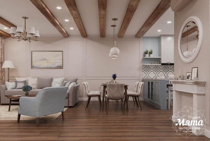 Дизайн интерьера первого этажа таунхауса в п. Палникс img1159271423