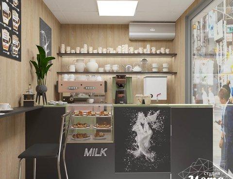 Дизайн интерьера маленькой кофейни по ул. Боровая 19
