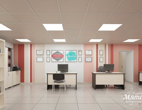 Дизайн интерьера и ремонт офиса по ул. Шаумяна 93